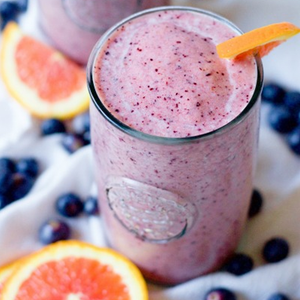Antioxidant Blueberry Orange Smoothie
