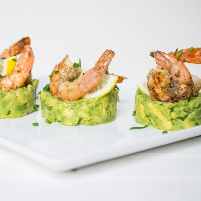 Grilled Shrimp + Avocado Appetizer