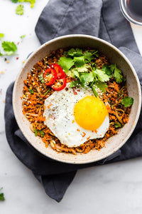 CARROT RICE BREAKFAST NASI GORENG