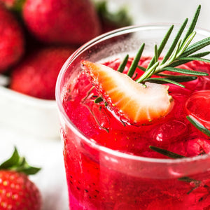 Strawberry & Rosemary Detox Water