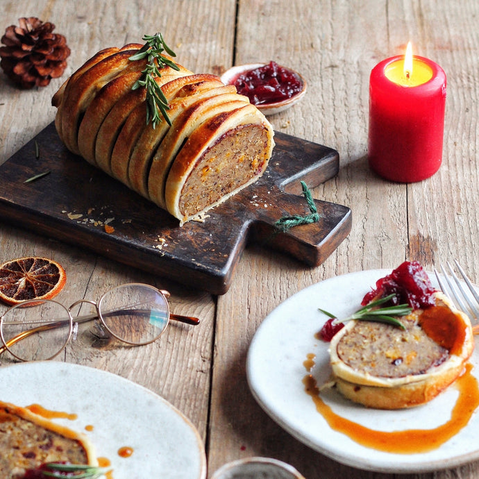 Vegan Christmas Roast Wellington