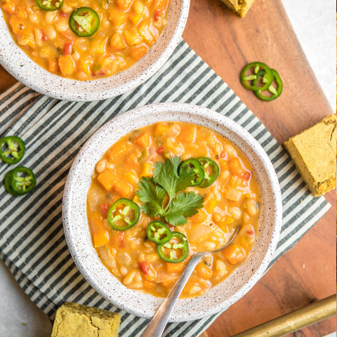 Butternut Squash & White Bean Chili
