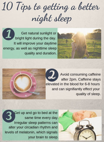 10 tips to help with sleep