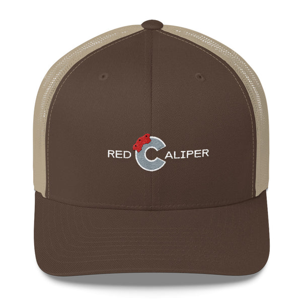 Red Caliper | High Quality Embroidered Trucker Hat