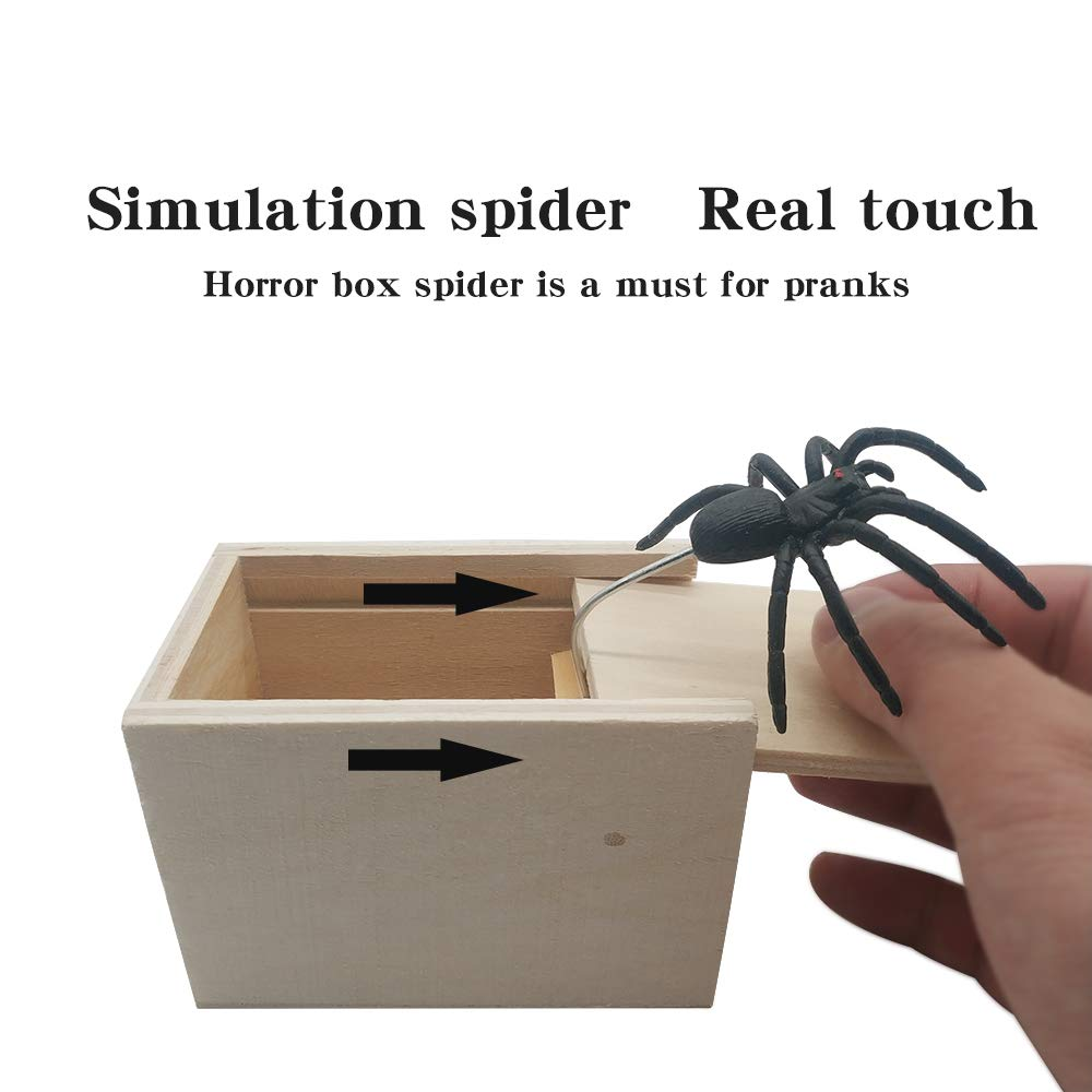 Hilarious Spider Prank Box