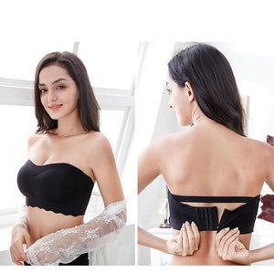TRIUM™: Supportive Ice Silk Tube Bra