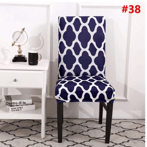 Hommie™: Flowery Kitchen Chair Covers