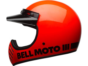 Casque BELL Moto-3 Classic Neon Orange