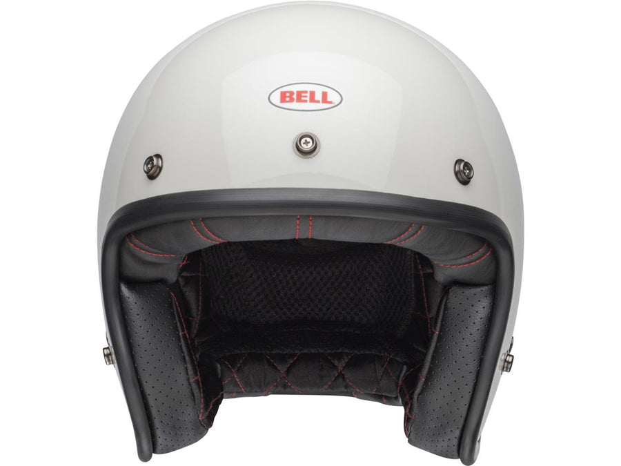 Casque BELL Custom 500 DLX Solid Vintage White