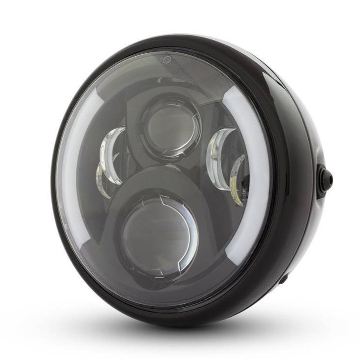 "THE HEADLIGHT LED 7,7"" + clignotants"