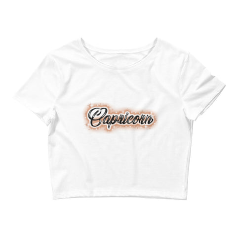 Capricorn the Goat Crop Tee