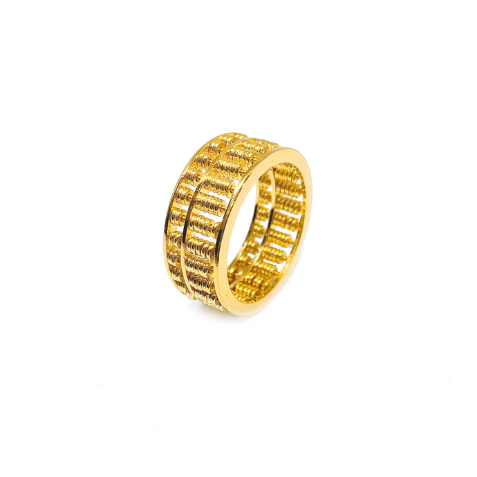 Plain Full Abacus Ring