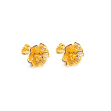 Intricate Flower Earring Stud