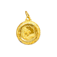 Zodiac Medallion Pendant - Dragon