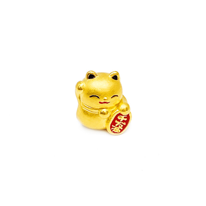 Fortune Cat Coloured Charm
