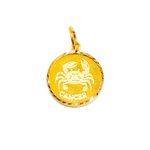 Horoscope Medallion Pendant - Cancer