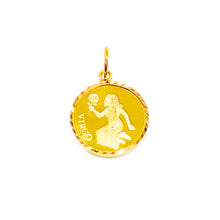 Horoscope Medallion Pendant - Virgo