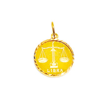 Horoscope Medallion Pendant - Libra