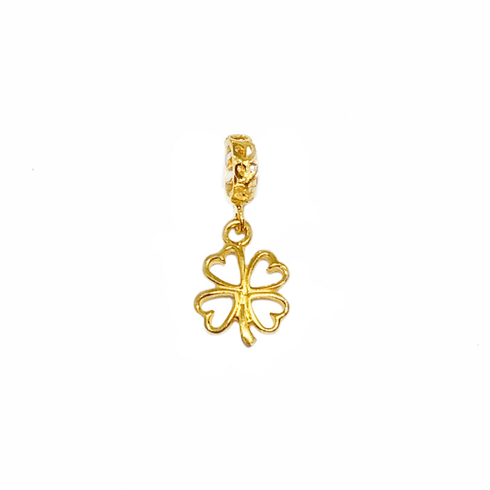 Dangling Clover Charm