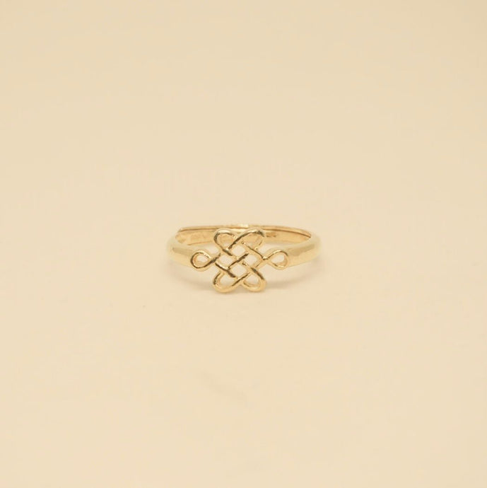 Gold Mystic Knot Ring