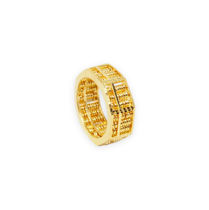 Full Octagon Abacus Ring