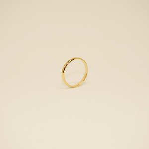 Minimalist Thin Band - Vintage ( Gold )