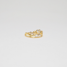 Two-Tone Tiara Ring