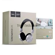 Hoco W2 Wired Gaming Headphones with Noise Cancellation Black