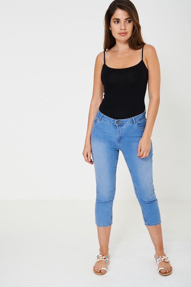 Crop Jeans in Blue