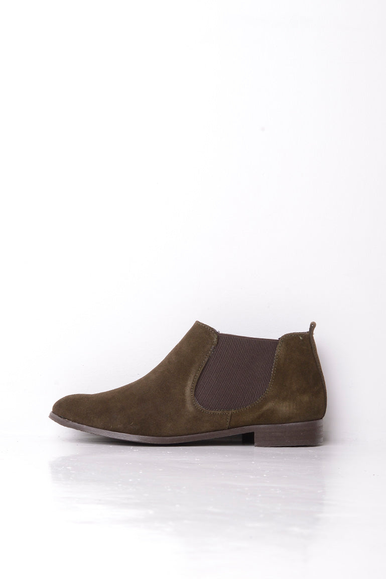 Vienty Low Boot with Elasticated Panel