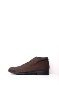 JOURNEY Men's Leather Shoe in Dark Brown