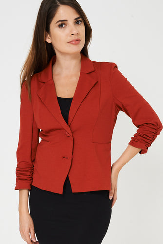 Orange Tailored Blazer Ex Brand