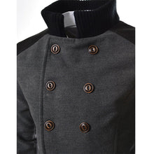 Load image into Gallery viewer, Mens Double Breasted Trench Coat