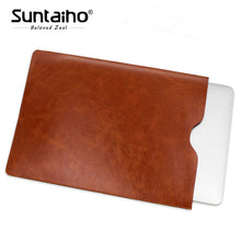 Load image into Gallery viewer, Leather Laptop Sleeve