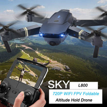 Load image into Gallery viewer, 2.4G 4CH 6-Axis Gyro 720P WIFI FPV Foldable Arm Selfie Drone Quadcopter w/ High