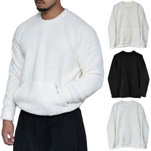 Load image into Gallery viewer, Mens Fleece Crew Neck Jumper