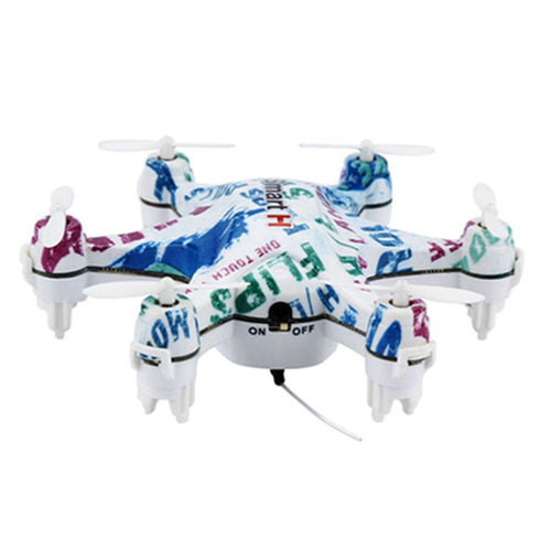 Cheerson CX-37-TX Smart-H RC Mini Drone Height Hold 2.4G 3D 6-axis Hexacopter with Remote Controller White