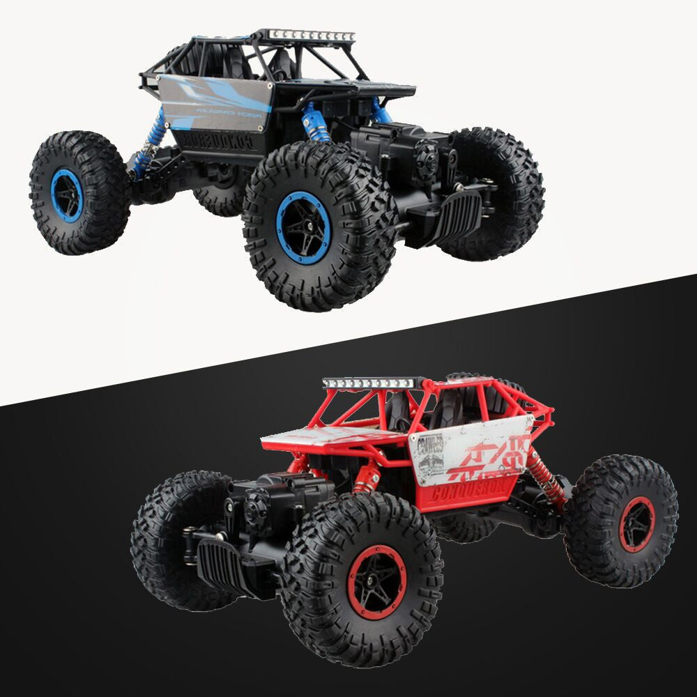 2.4GHZ 1:18 Scale 4WD Rock Climber Radio Remote Control Off Road RC Car