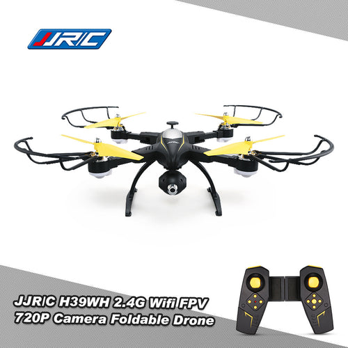 Original JJR/C H39WH Wifi FPV 720P Camera Foldable Drone 2.4G 4CH 6-aixs Gyro RC Selfie Beauty-mode Quadcopter RTF