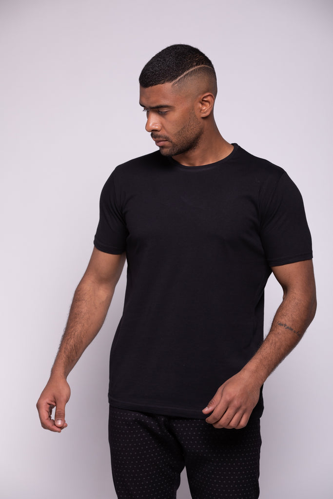 Round-neck T-shirt -X Large
