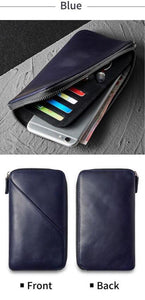 New bring hand wallet Blue