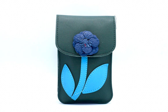 Flower Bag Vertical Green