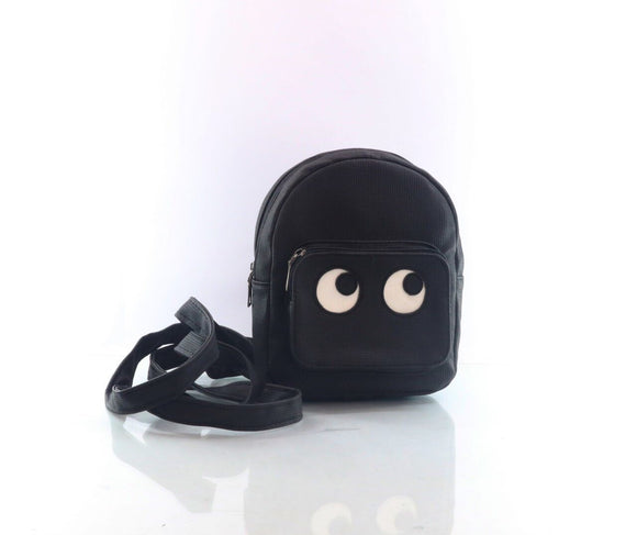 Cartoon backpack women black
