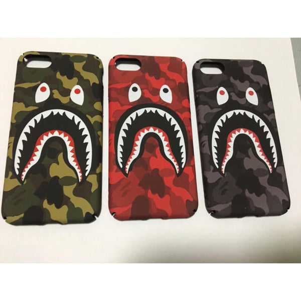 coque iphone 7 bape shark
