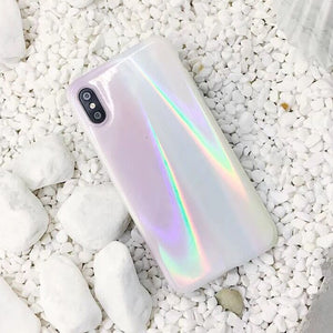 coque holographique iphone xr