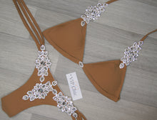 The Crystal Emily Bikini in Nude - VIP Chic London