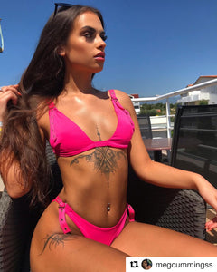 NEW Buckle Bikini in Pink - VIP Chic London