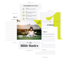 Bible Basics Homeschool Curriculum