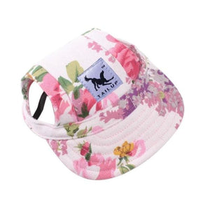 Adorable Dogs Baseball Cap - Flower / S