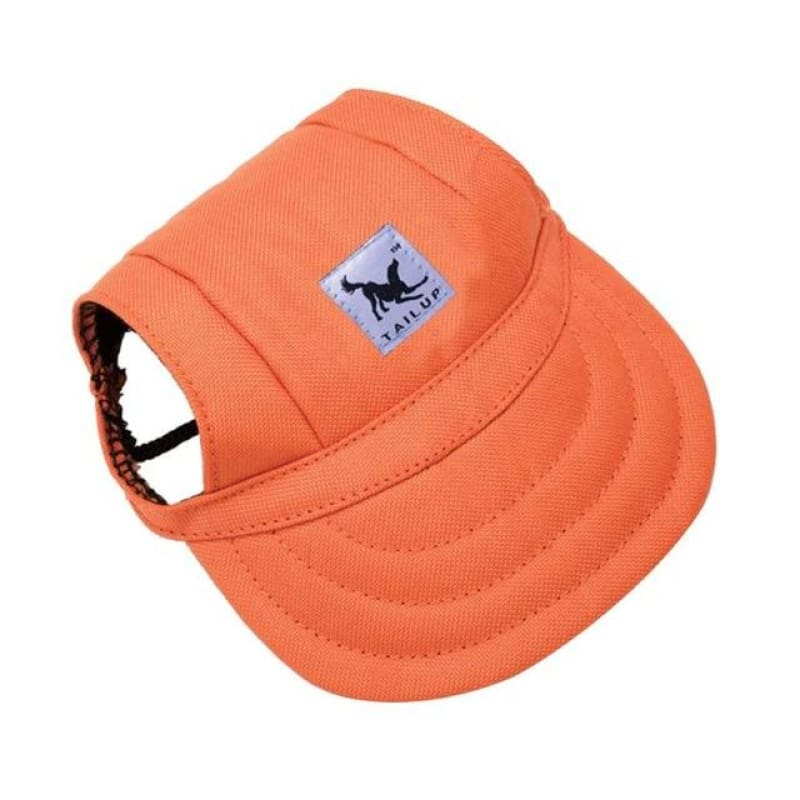 Adorable Dogs Baseball Cap - Oxford Orange / S
